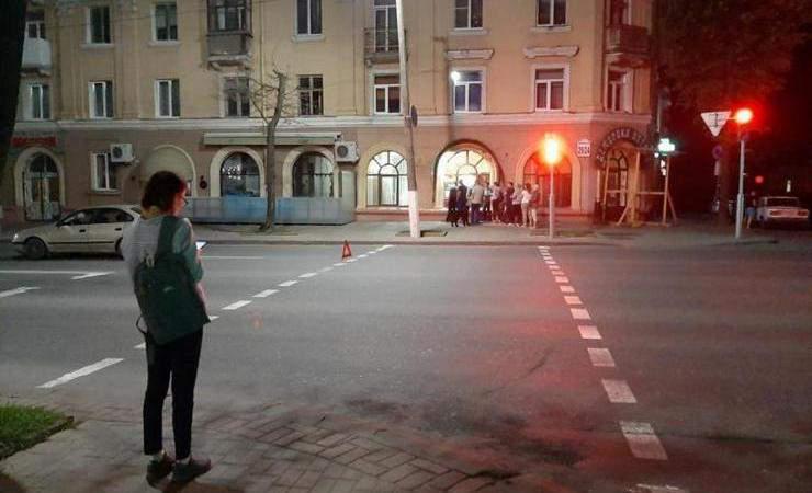 В Могилеве «Тайота» сбила 65-летнего мужчину, переходящего дорогу на красный