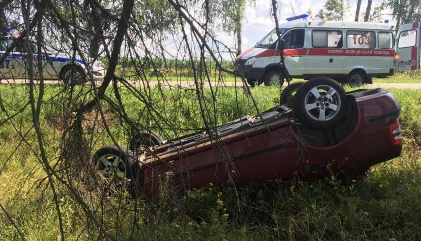 ДТП в Бобруйском районе: поцелуй с переворотом