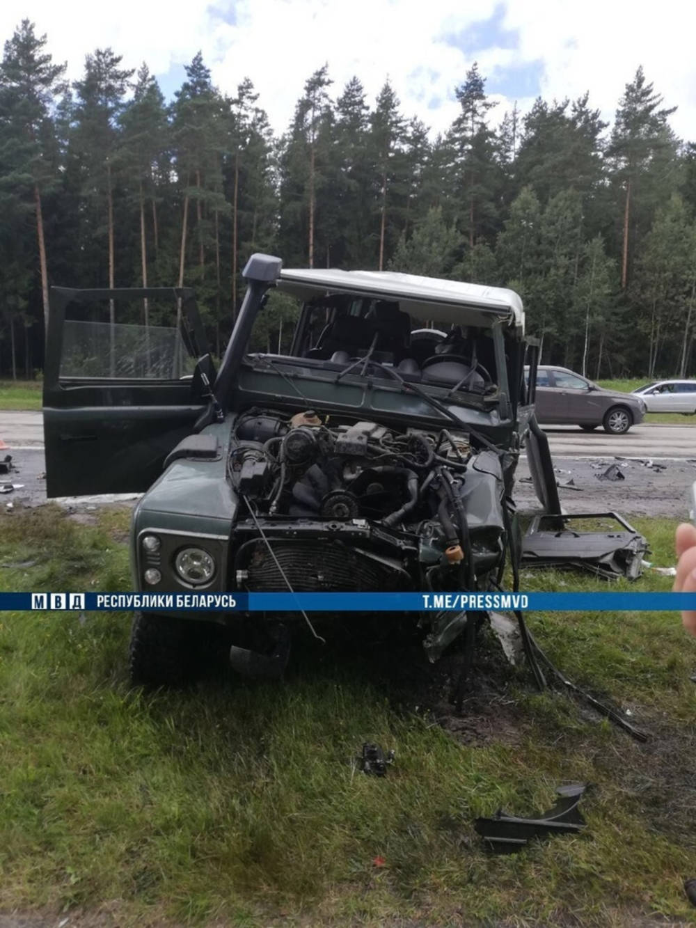 Трагедия на трассе М3 «Минск – Витебск»: семь человек госпитализированы, один погиб