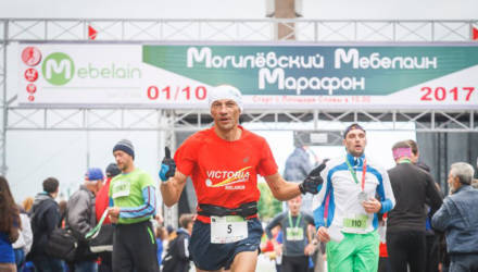 В октябре в Могилеве состоится забег «Мебелаин Марафон»