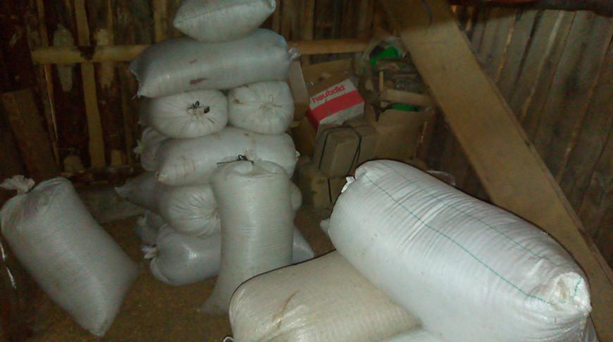 В Краснополье работник фермы украл более 1,5 тонн зерна
