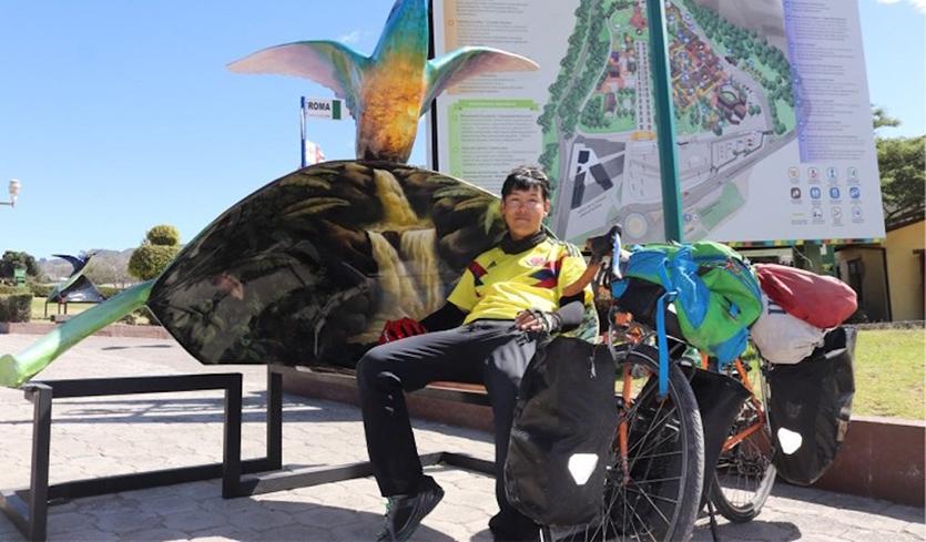 Японский путешественник, мечтавший объехать на велосипеде вокруг света, погиб в ДТП