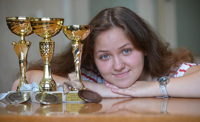 Бобруйчанка взяла «золото» на международном чемпионате Европы по шашкам