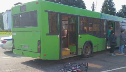 В Осиповичах несовершеннолетняя велосипедистка попала под колеса автобуса