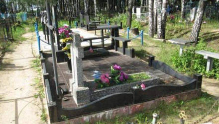 Малолетние вандалы на кладбище в Кировске