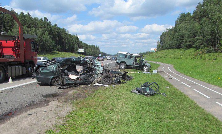 Трагедия на трассе М3 «Минск – Витебск»: в больнице скончалась еще одна пассажирка