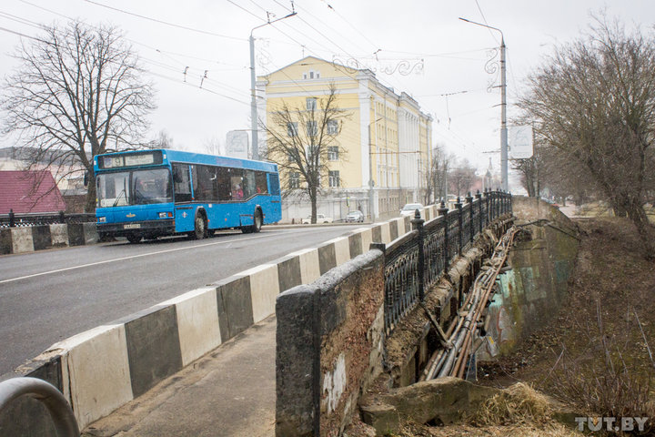 В Могилеве в сентябре закроют на ремонт мост на Первомайской