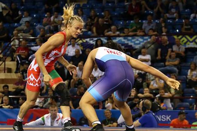 На международном турнире по вольной борьбе спортсмены Могилевщины завоевали два золота и две бронзы