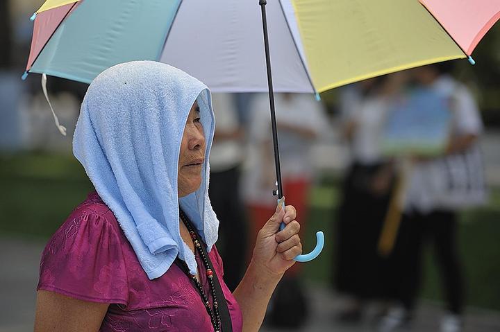 Япония страдает от изнуряющей жары