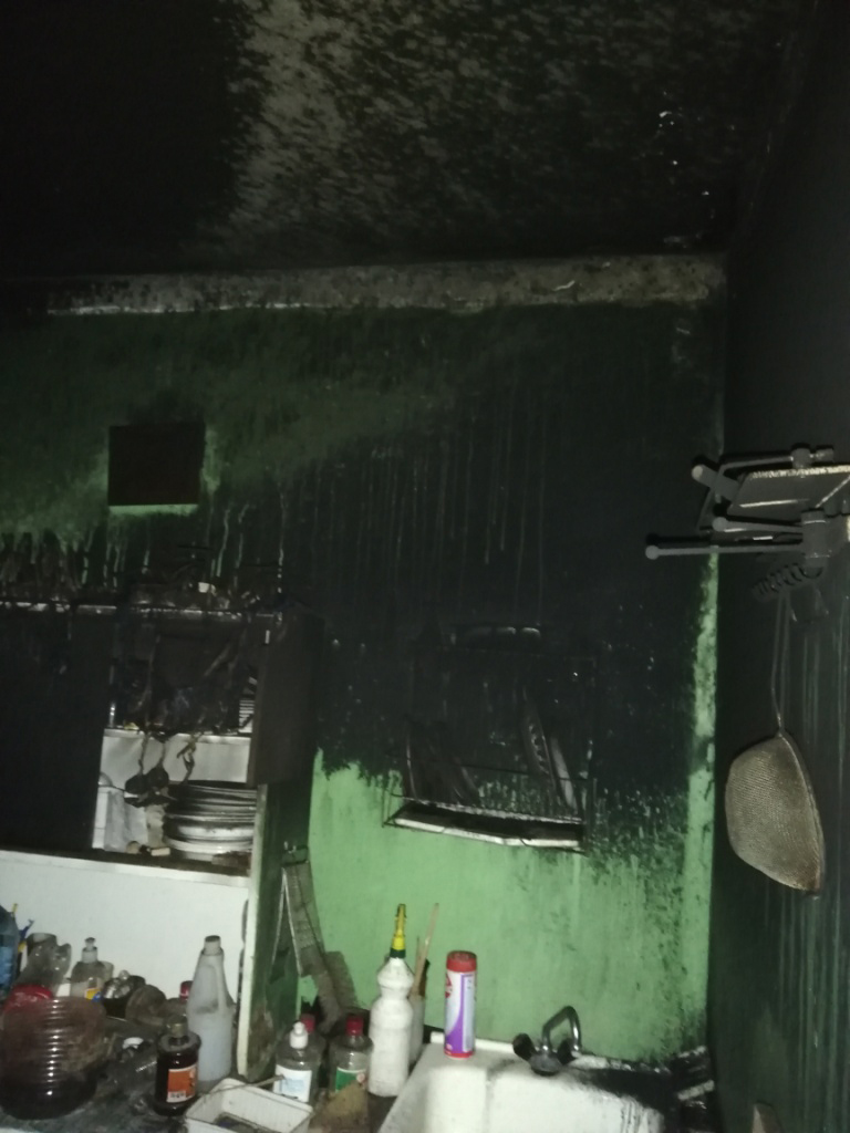 В Горках в квартире произошел пожар
