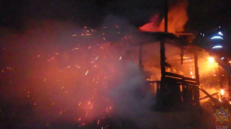 Пожар в доме в Могилевском районе унес две жизни