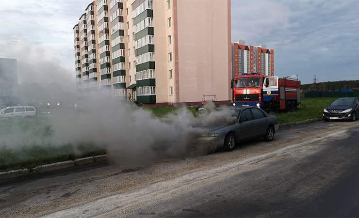 Автомобиль дымился – никто не волновался