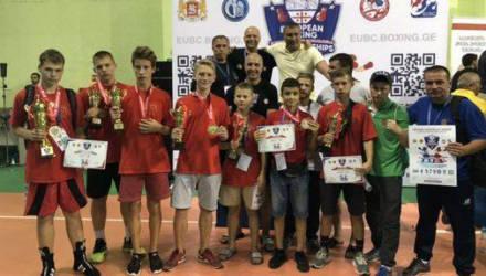 На чемпионате Европы по боксу для школьников спортсмены Могилевщины взяли две бронзы