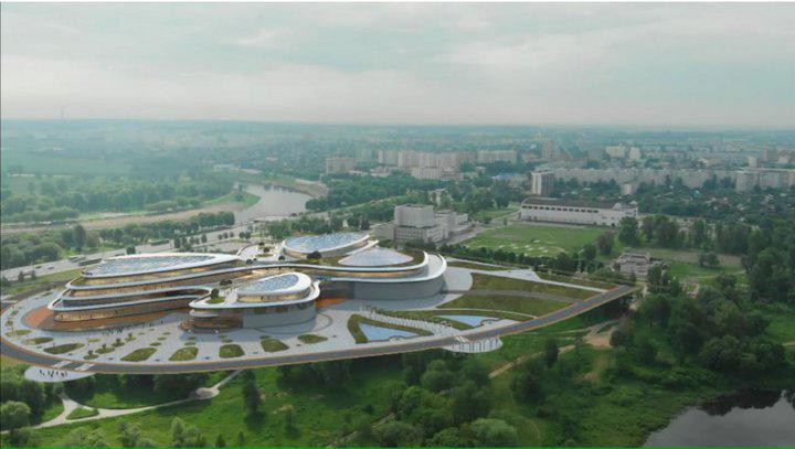 В Могилеве на месте каруселей собираются построить 4-этажный развлекательный центр