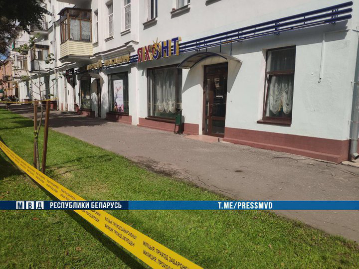 В Минске совершено дерзкое ограбление ювелирного магазина