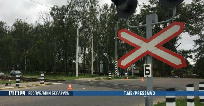 Трагедия в Шклове: подросток на скутере попал под поезд