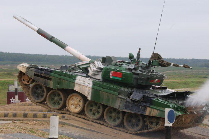 Белорусские танкисты заняли второе место на «Танковом биатлоне — 2019»