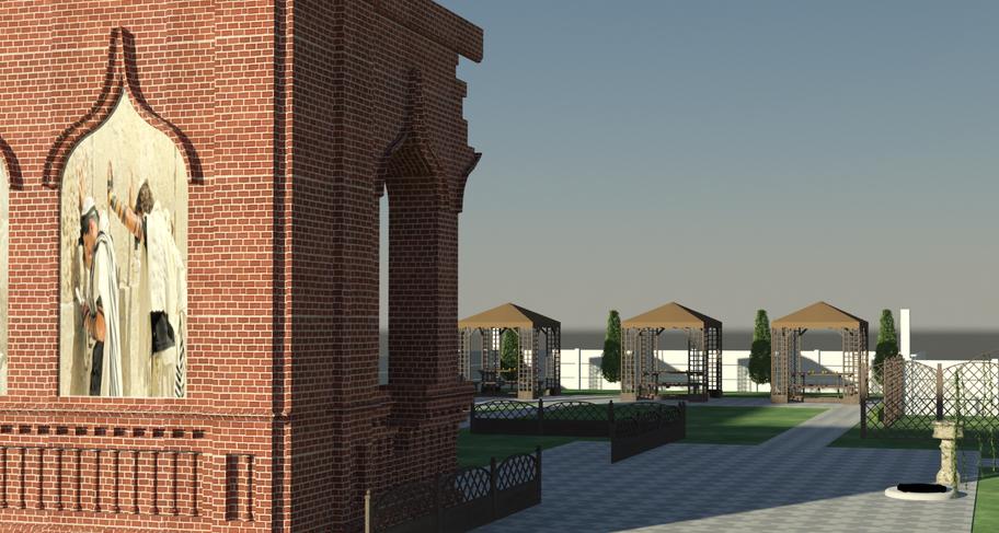 Новая достопримечательность Бобруйска – «Еврейский дворик»