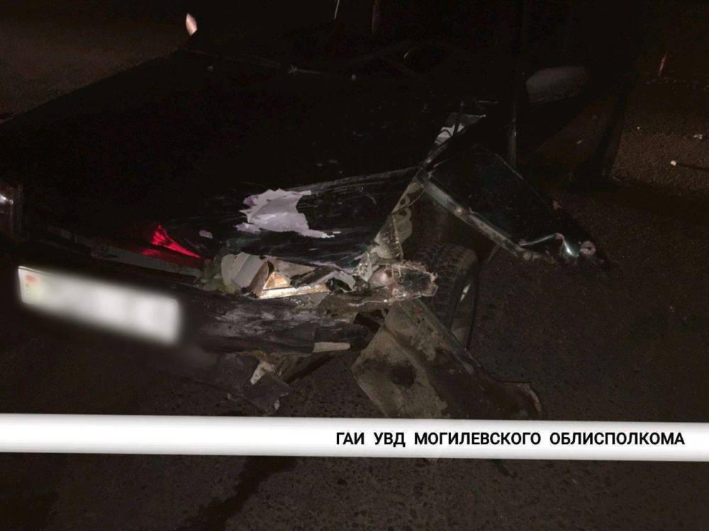 В Могилеве столкнулись «ВАЗ» и мотоцикл