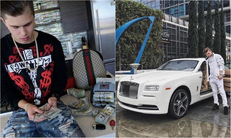 Блогера, который хвастался пачками денег и шикарными авто, посадили на 17,5 лет