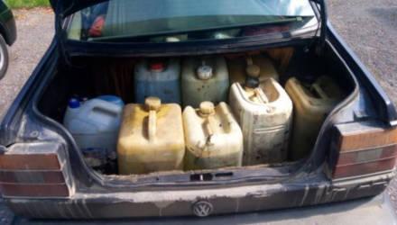 В Чаусском районе работники сельхозпредприятия похитили 630 л топлива