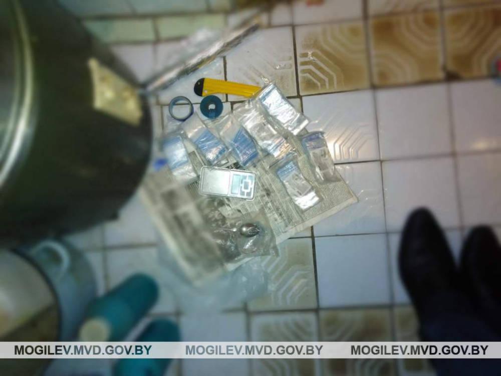 В Могилевской области задержаны четверо закладчиков наркотических веществ
