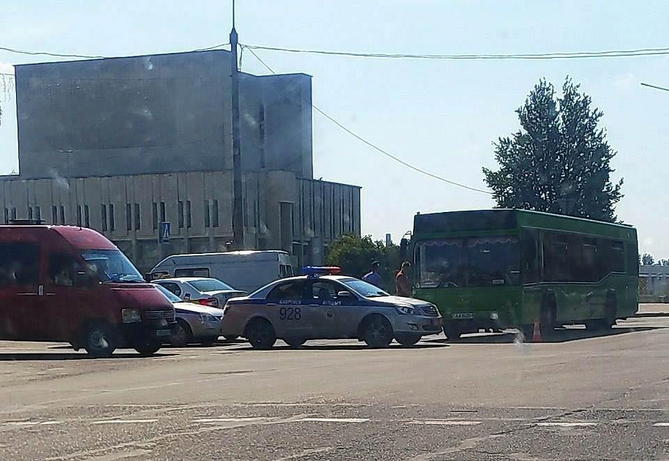 В Бобруйске снова происшествие с участием автобуса