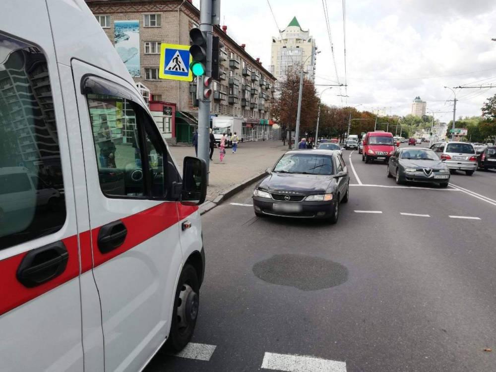 В Могилеве «Опель Вектра» сбил 84-летнего мужчину