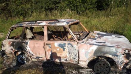 Двое могилевчан угнали, а потом сожгли похищенную машину