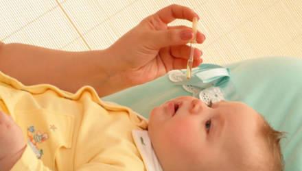 В Горках 9-месячный ребенок отравился каплями в нос