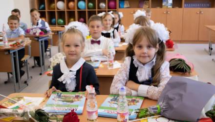 Новая школа в Казимировке приняла своих учеников (фото)