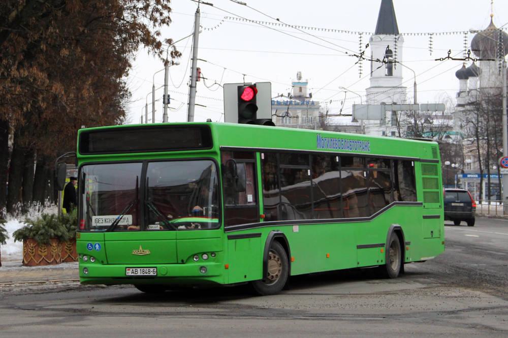 Во временные маршруты общественного транспорта Могилёва внесены изменения