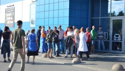 """""""Внимание, пожарная опасность!"""" В ТЦ «Карусель» в Бобруйске эвакуировали людей"""