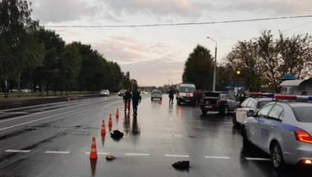 В Могилёве на нерегулируемом пешеходном переходе насмерть сбили мужчину