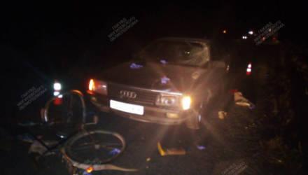В Кричевском районе автомобиль наехал на велосипедистку. Женщина госпитализирована