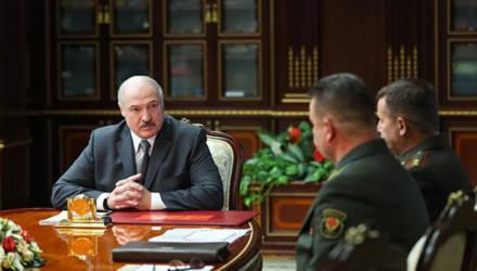 Лукашенко проводит срочное совещание с силовиками