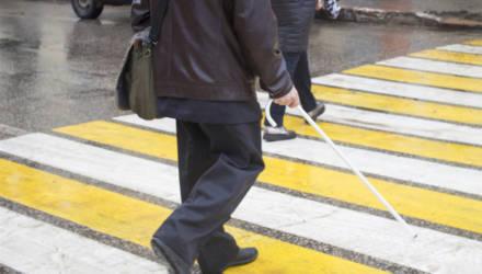 В Могилёвской области стартовал месячник «Человек с белой тростью»