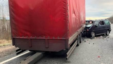 Три белоруса погибли в ДТП под Смоленском