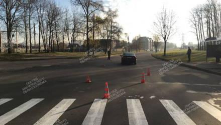 Могилевчанка переходила дорогу по зебре и попала под машину