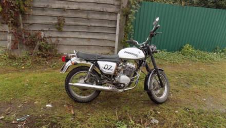 18-летний могилевчанин около 10 километров катил похищенный мотоцикл - не мог завести