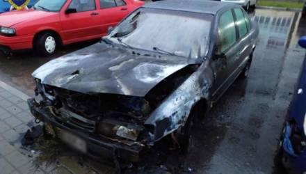 Мужчина в Осиповичах поджег автомобиль, в котором видел свою бывшую девушку