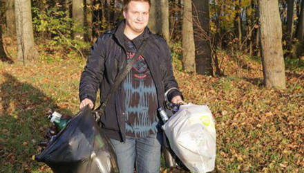 Студенческая молодёжь вузов Могилёвщины приняла активное участие в республиканской акции «Чистый лес»