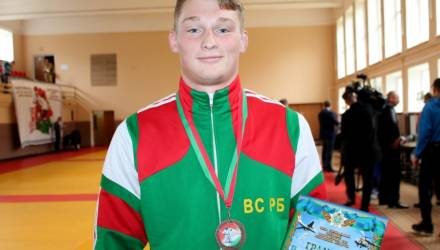 Парень из Горок стал чемпионом Беларуси по рукопашке