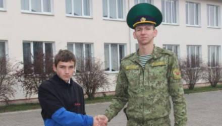 Школьник помог задержать нарушителя белорусско-польской границы