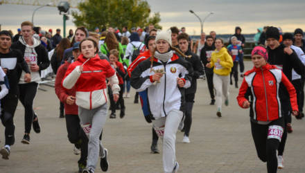 Массовый, «зеленый» и командный. Как в Могилёве прошёл второй «Мебелаин марафон»