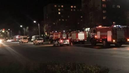 В Бобруйском общежитии был пожар. Отец и сын спаслись