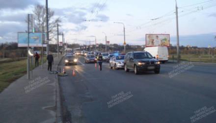 В Могилёве сбили 10-летнего велосипедиста: ребёнок в реанимации