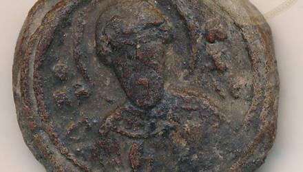 Под Гродно археологи раскопали древнюю печать Владимира Мономаха