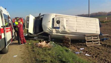 Смертельная авария под Гродно: одного из водителей придавило собственным микроавтобусом, он погиб