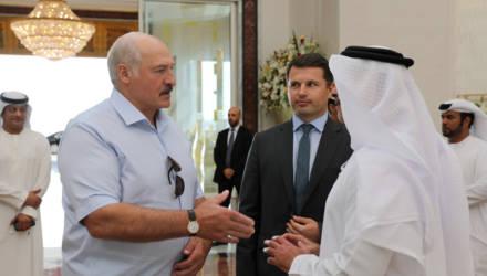 Завершился визит Лукашенко в ОАЭ